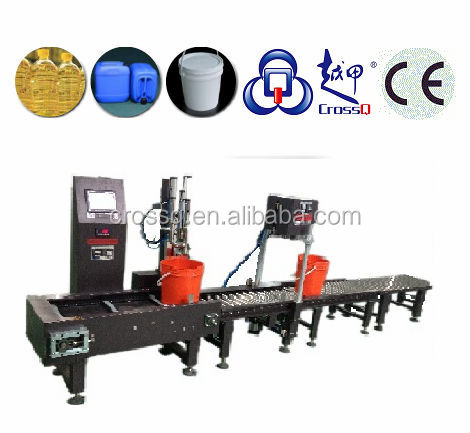 Oil Full Automatic Weighing Filling Line 20L