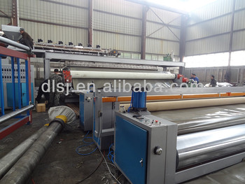 4-8M Wide breadth PE geomembrane extruder