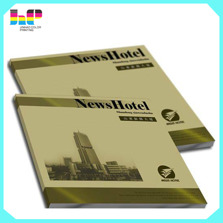 full color cheap high quality perfect binding softcover book printing