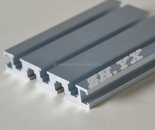 custom anodized aluminium slide rail profiles manufacturer