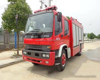 High end isuzu FTR chassis fire fight truck good quality 6000L isuzu fire truck for sale