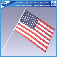 High Quality customed small plastic flags