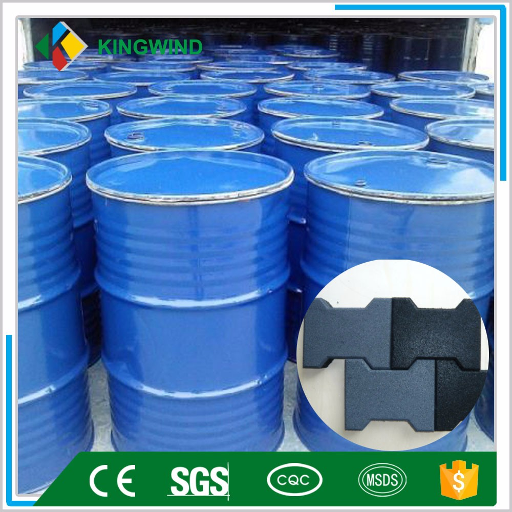 fast dry strong pu binder for rubber tile