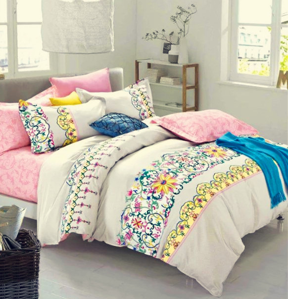 full comforter sheets 4pcs home bedding bedclothes