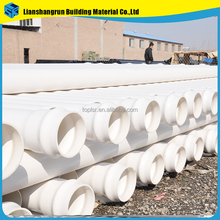 wholesale customized white gray gated irrigation pvc pipe