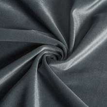 China wholesale price of pile length 1 mm polyester soft velour fabric for bag