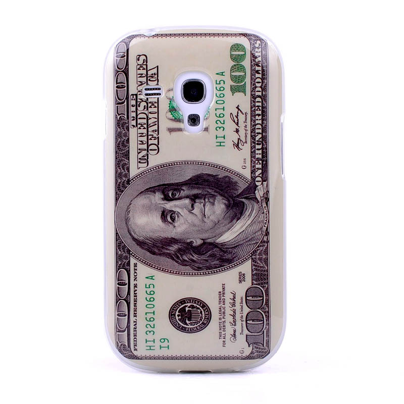American Currency US Dollars tpu Case for Samsung Galaxy S3 i9300 Mini