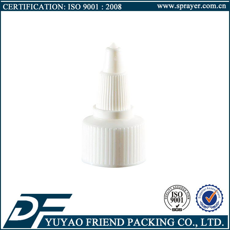 China-made 20mm 24mm 28mm plastic twist top cap for empty bottle