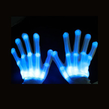 Wholesale China party glow in the dark Gloves