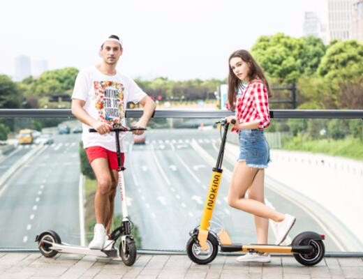 "INOKIM CE certification foldable 10"" electric scooter for adults"