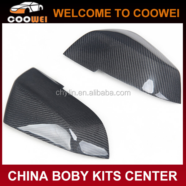 Top Quality Full Replacement New 3 Series F30 Carbon Mirror Covers For BMW F30 F20 F35 E87 2011up