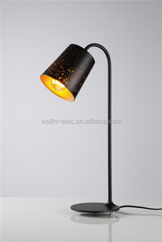 Modern Designer Black Iron Etch Shape Stand Lamp For Hotel Decoration