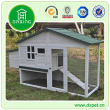 Chicken Coop Hen House w/ Nesting Box and Outdoor Run