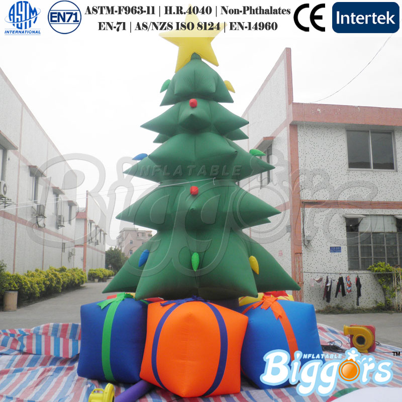 Outdoor Inflatable Christmas Tree Decorations For Sale