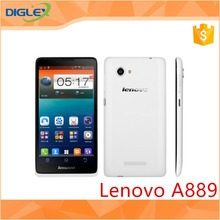 "Original Lenovo A889 WCDMA MTK6582 Quad Core 1.3GHz 1G RAM 8G ROM 6.0"" 8.0MP Caemra Android 4.2 WIFI Bluetooth GPS Mobile Phone"