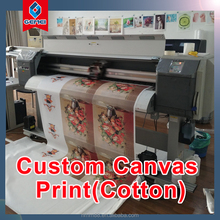 Custom Canvas Print & Printing Cotton