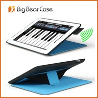 Leather flip cover for ipad 2 3 4 case