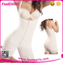 Lace Hem Seam Design Short Pants Butt Lift Shapers Corset