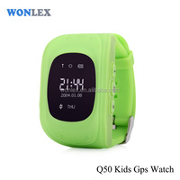 Wonlex hot selling New Bulk Wholesale GPS Tracker Q50 Kids GPS Smart Watch For Children Wrist Watch GPS Tracking Kids