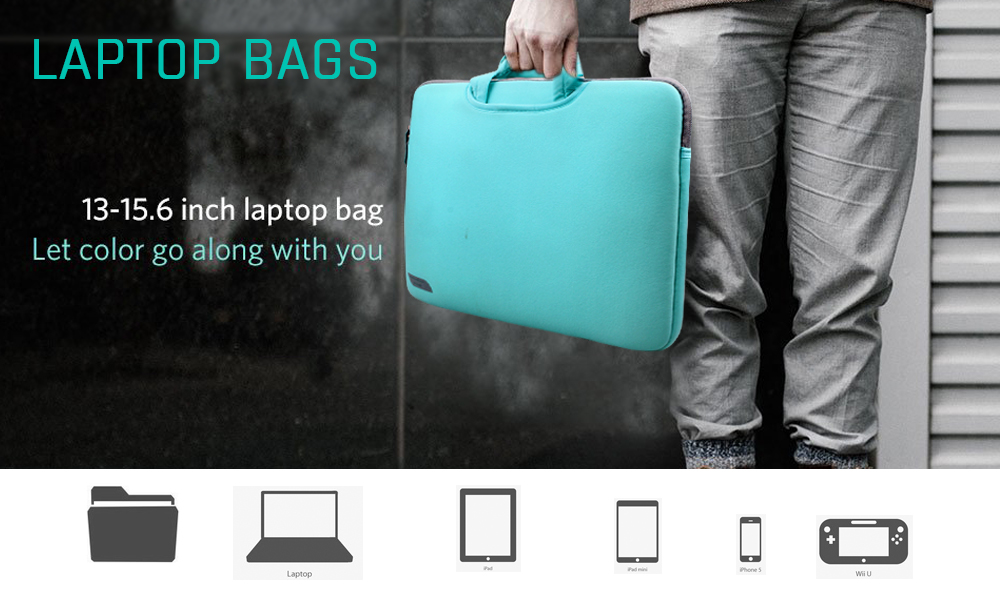 New Arrival Eco-friendly Neoprene Handbag Laptop Case bag for Apple MacBook
