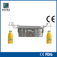 Semi-Automatic 4 Heads Explosion Proof Vacuum Perfume Filling Machine