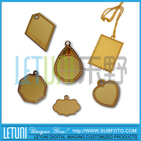 Sublimation Jewelry Blanks Pendants