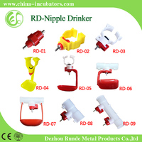 Factory directly supply automatic poultry nipple drinker