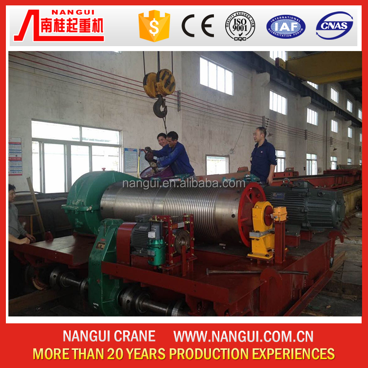 Fosan 5 ton wire rope hoist electric winch for crane
