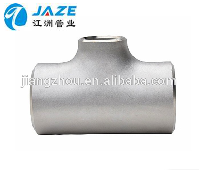 Stainless Steel 304 Seamless Reducing Tee for Pipe