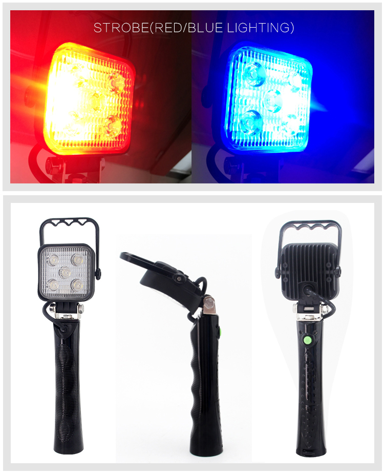 Car accessories 10w led work light led auto lamp rechargeable