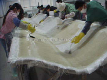 FRP Handlay process