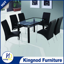 High quality modern Walmart dining table and chairs