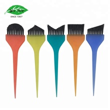 5 pcs Hair Colour Application Tint Brush Set with Different Shaped Brush Heads