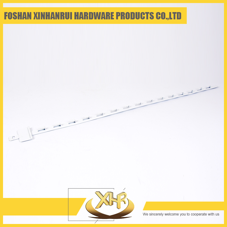 White display hanger clip strip for supermarket display products L86mm