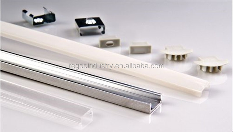 aluminum profile for led light bar, 100mm aluminum extrusion for LED light bar