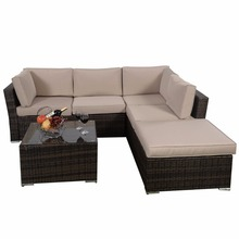 Modern Patio Outdoor Furniture Pe Wicker/Rattan Sofa Sets outdoor patio furniture cover