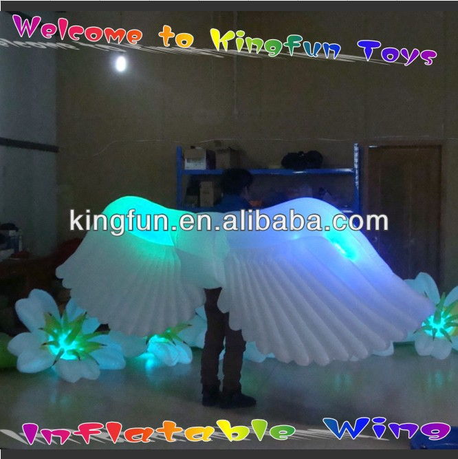 Event/party/club/stage/festival inflatable wing decoration