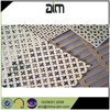 Decorative embossed perforated sheet metal, galvanized micro perforated round metal sheet