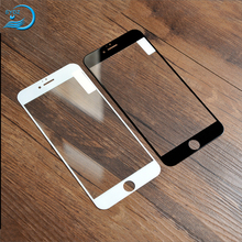 High Qualilty Shatterproof Silk Printing Screen Guard ,2.5D 0.33mm For Iphone 7 7 Plus 8 Tempered Glass Screen Protector
