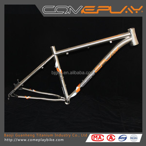 Titanium MTB Bike Frame 26/27.5 /29er inch Titanium Mountain Bike Frame Bicycle Parts Bicycle Frame