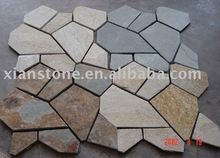 Natural stone slate patio flooring tile