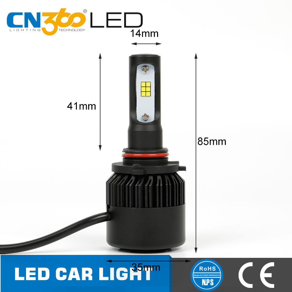 China long lifetime automotive bulb 25w cars use 9005 bulbs , best hb3 9005 led headlight