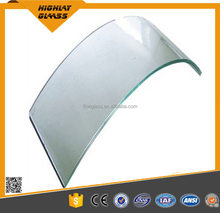 Nice price of customed tempered glass curved/bent glass