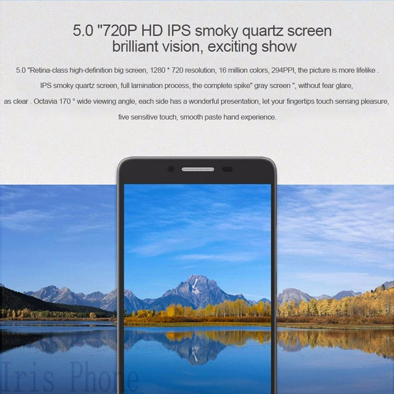 Original 5.0 inch Lenovo A3690 MTK6735P Quad Core 1Ghz 1GB RAM/8GB ROM 1280*720 Dual SIM 8.0MP Camera Android 5.1 Smartphone