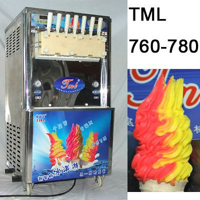 ice cream machine Brand TML, 2015 NEW color ice cream machine