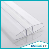 PC profile U and H polycarbonate sheet/pc panel