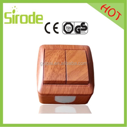 Google Crazy Searching Surface Mounting Wooden Switch And Socket