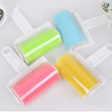 Household Two Sided Dust Collecting Absorbing Wool Clothes Rolling Brush