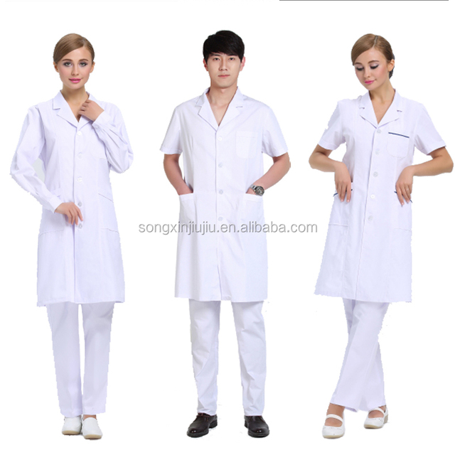 Hot sale overall uniform,white lab coat for doctor
