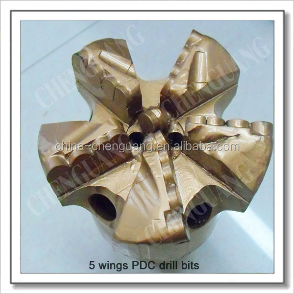 65mm 75mm 90mm 100mm 250mm PDC drill bit For soft formation PCD drill bit For Sandstone, Limestone
